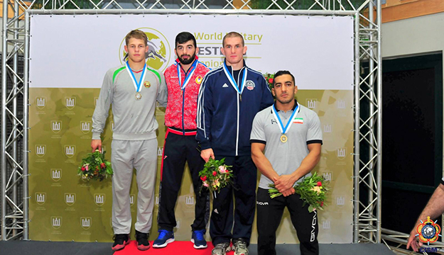 Matthew Brown wins bronze medal in men's freestyle at CISM Military Worlds in Lithuania