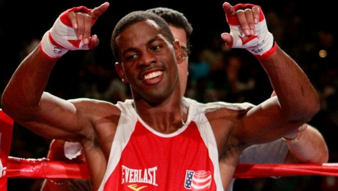 JAMEL HERRING PUNCHES HIS TICKET FOR THE 2012 OLYMPIC GAMES IN LONDON