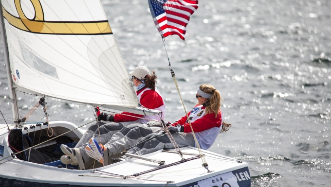 U.S. Women Win 2013 CISM Sailing Bronze