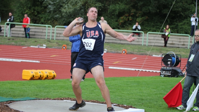 SSgt Perio (USMC) wins Shot Put Gold