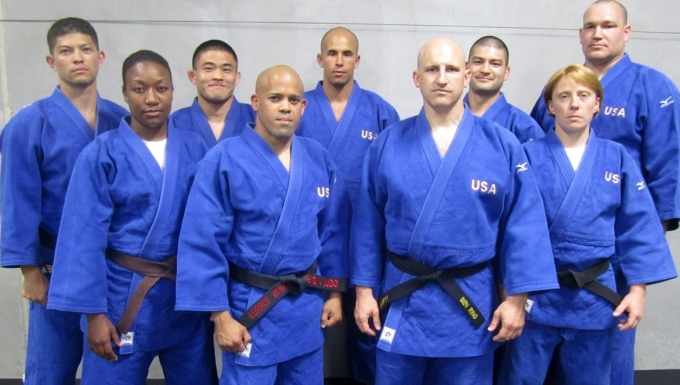 2013 Armed Forces Judo Team at CISM
