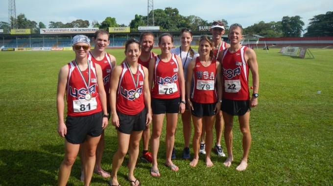 US Women take bronze/Men 7th at CISM
