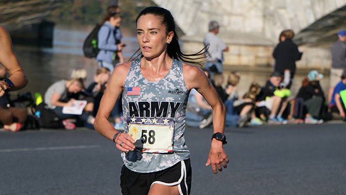 Army Repeats Sweep of Men's and Women's Armed Forces Marathon Gold