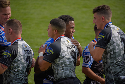 In a sweeping victory, Army captured their sixth straight Armed Forces Rugby 7's Championship with a 12-7 win over the Air Force at Infinity Park in Glendale Colorado on August 25.