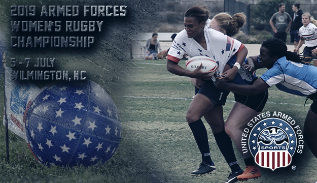 First Ever Women's Armed Forces Rugby Championship