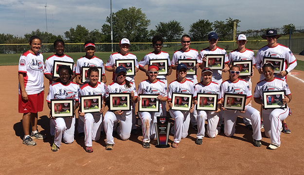 U.S. Armed Forces Women's team wins silver during the 2017 USA Softball National Championship in Oklahoma City, Okla