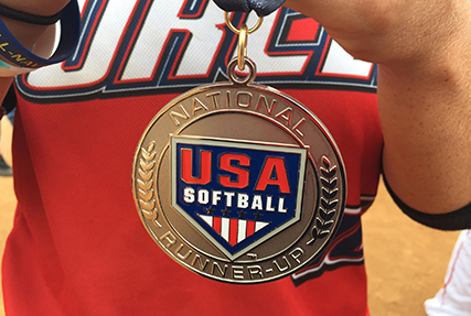 The U.S. Armed Forces Women's Softball Team reached the finals once again and earned silver at the 2018 USA Softball National Women's Open Championship at the WVO Softball Complex in Portland, Ore. on August 26.