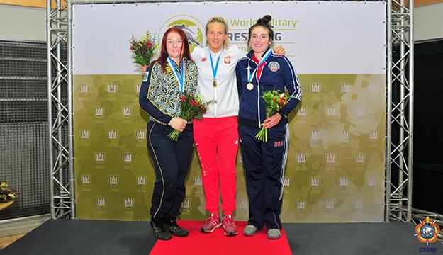 Anastasia Lobsinger wins bronze at CISM Military Worlds