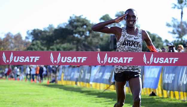 Army wins men's cross country championship, Marine marathoner takes gold for women