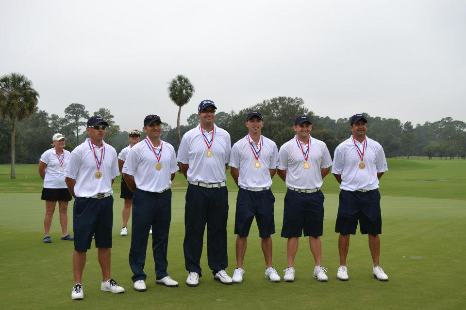 USAF Men Win Armed Forces Gold Medal